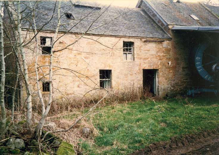 Milltown of Evelix watermill