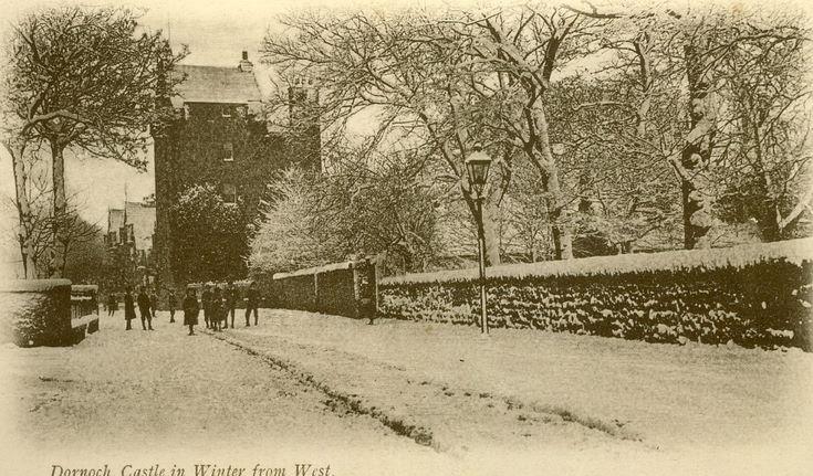 Castle Street in snow