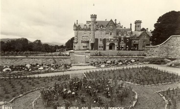 Skibo Castle and gardens