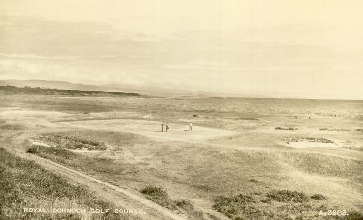 Royal Dornoch Golf Course postcard