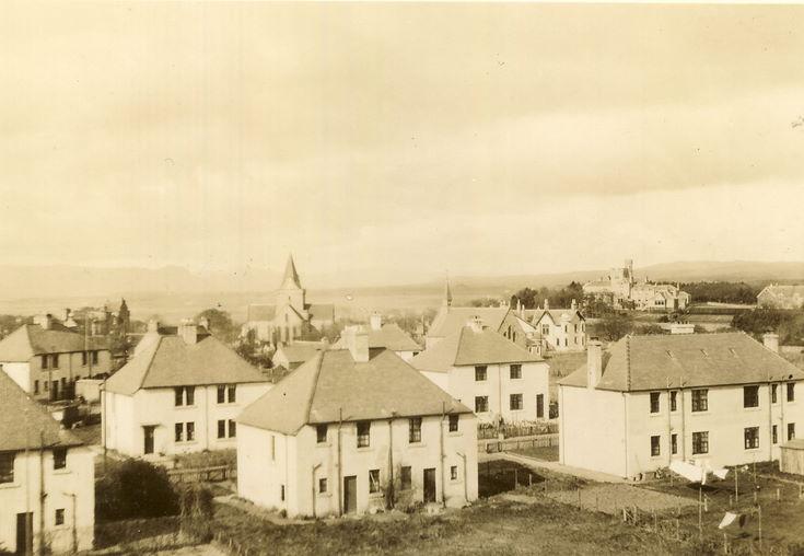 Houses at Bishopsfield, Dornoch