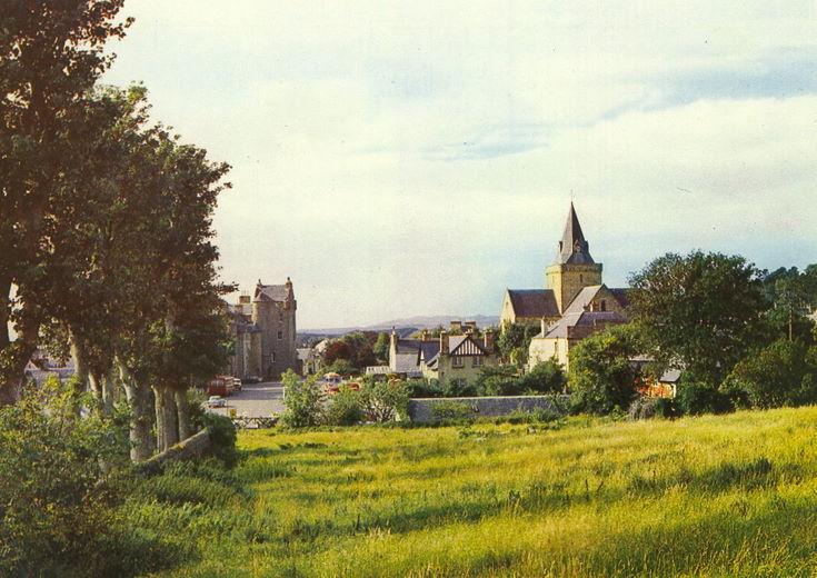 Dornoch from School Hill / Argyll Street