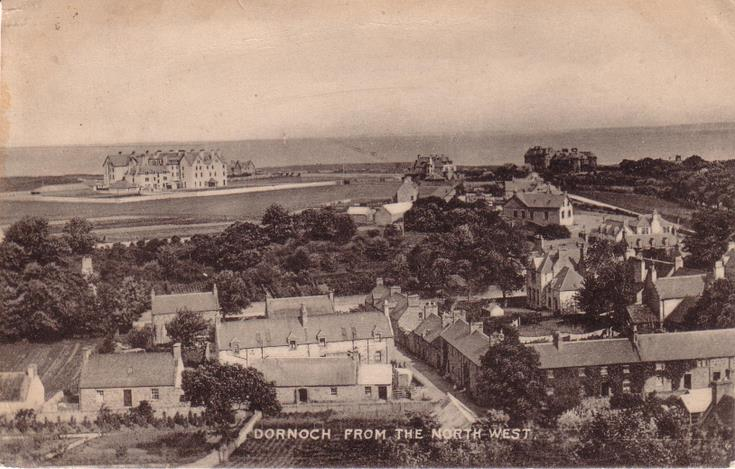 Dornoch from the north-west