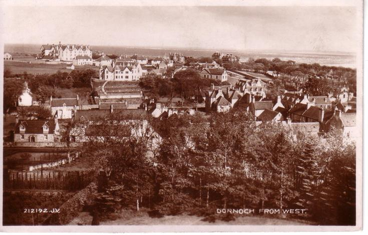 Dornoch from the west