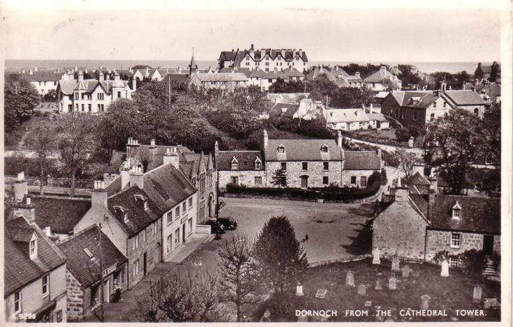 Dornoch from the Cathedral tower