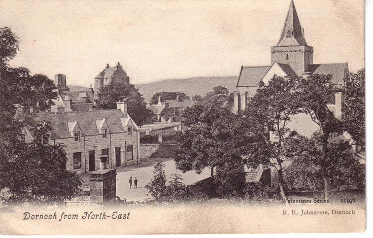 Dornoch from the north-east