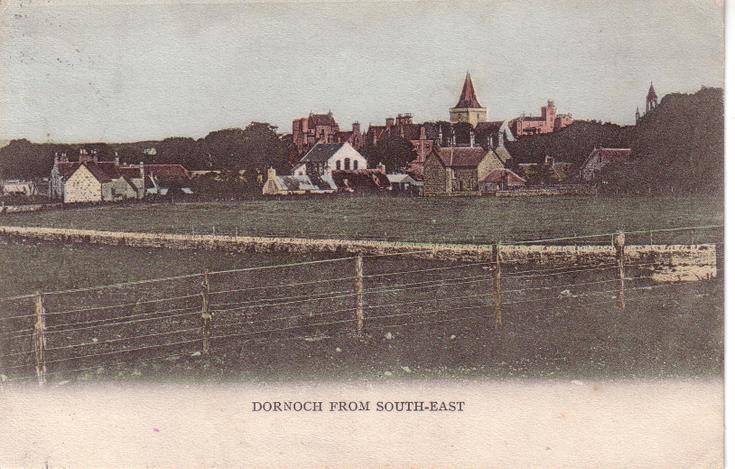 Dornoch from the south-east