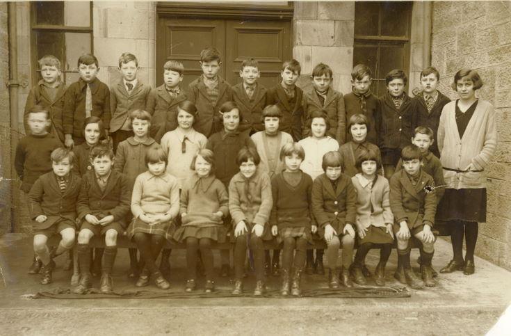 Dornoch Academy 1920's