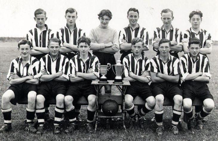 Dornoch 3rd Eleven Football team 1953