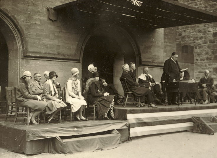 Dias group Freedom Ceremony 1928
