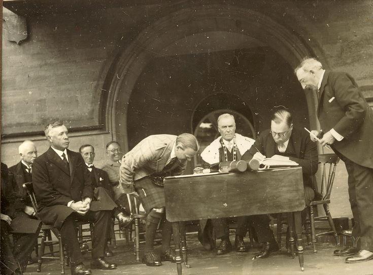 Freedom of Burgh Ceremony 1928