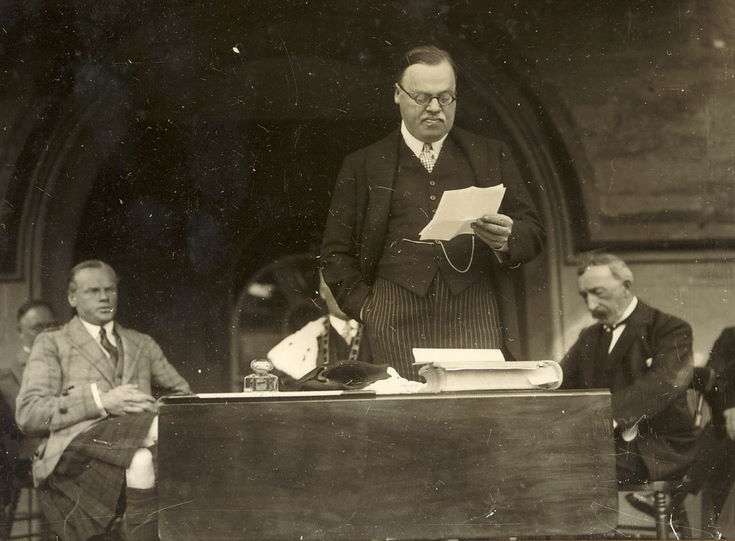 Speech - Freedom of Burgh ceremony 1928