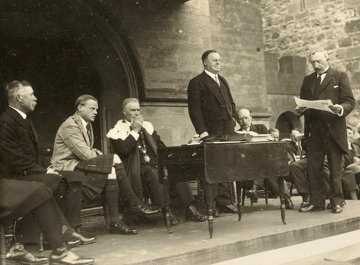 Freedom Ceremony 1928