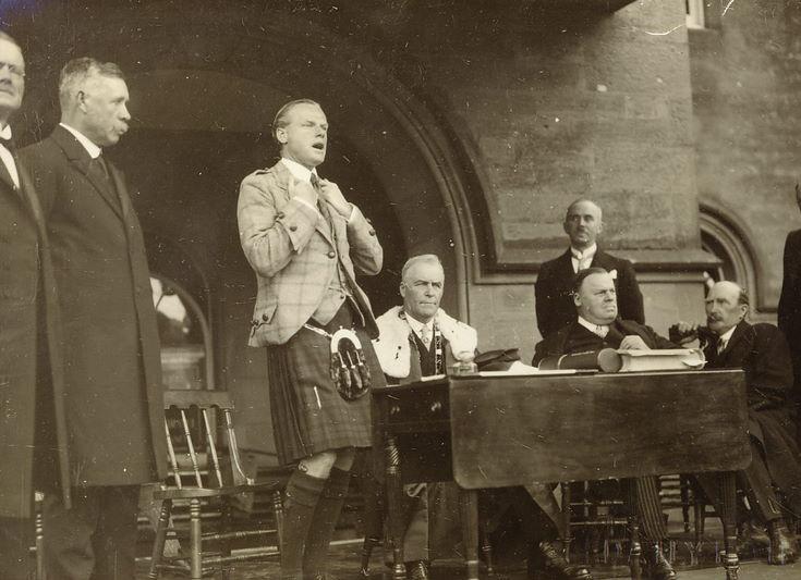 Duke of Sutherlands speech Freedom ceremony 1928