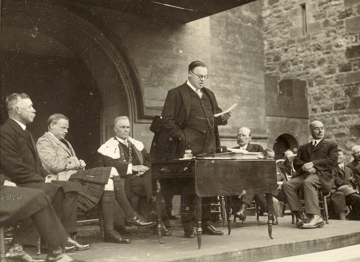 Freedom Ceremony Dornoch 1928