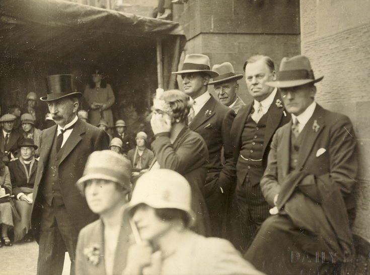 Freedom of Burgh 1928 audience