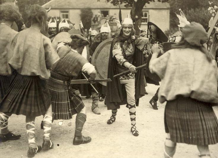 Mock battle 1928 Pageant