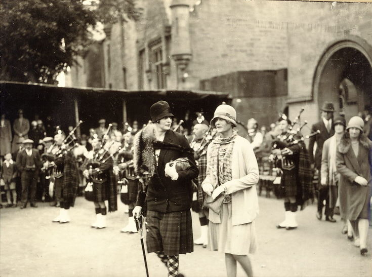 Ladies attending the Freedom of Burgh Ceremony 1928