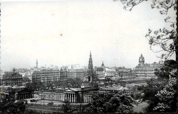 Views of Edinburgh ~ towards Princes Street