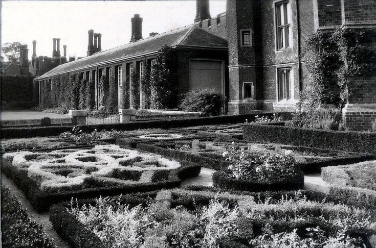The Knot Garden at Hampton Court Palace
