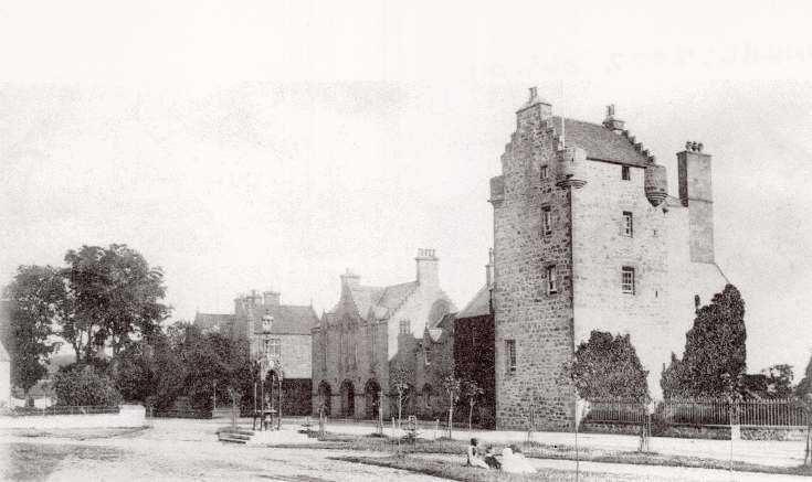 View of Castle and Square, Dornoch