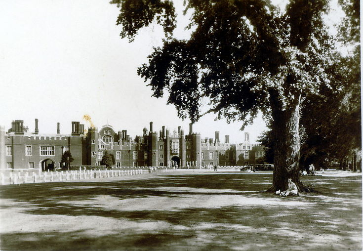 The West Front ~ Hampton Court Palace