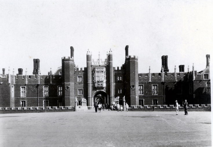 The West Front ~ Hampton Court Palace