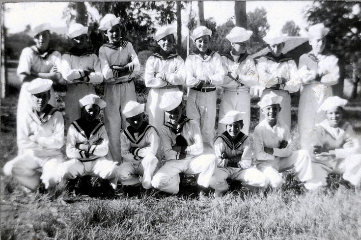 Group of Children in sailor suits