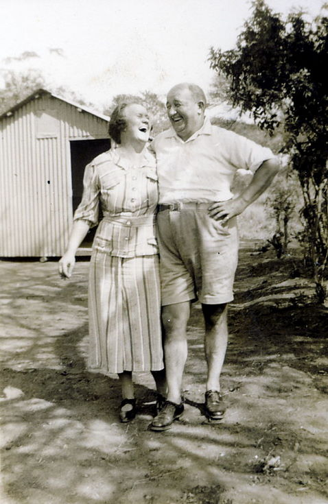 Thomas and Ruby Hardie ~ probably South Africa
