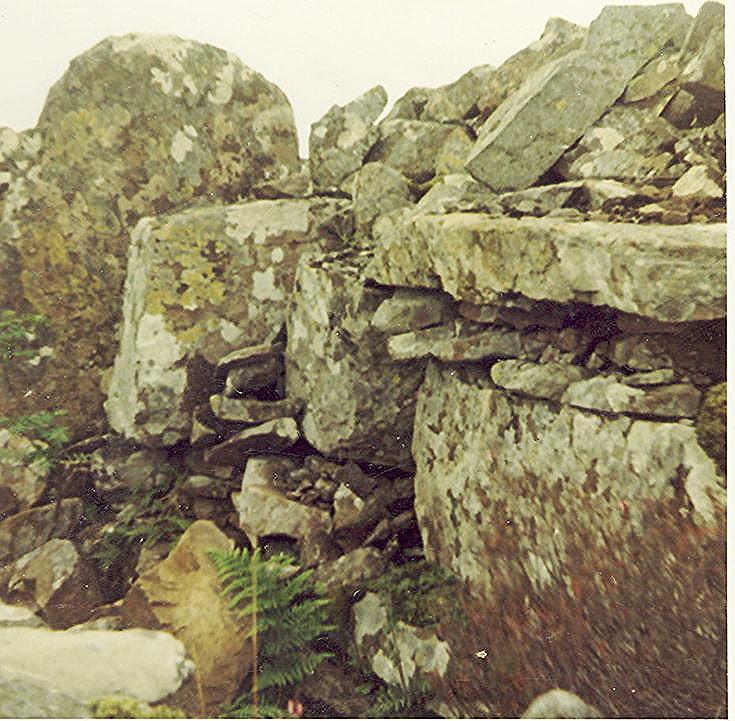 Broch at Killin, above Loch Brora