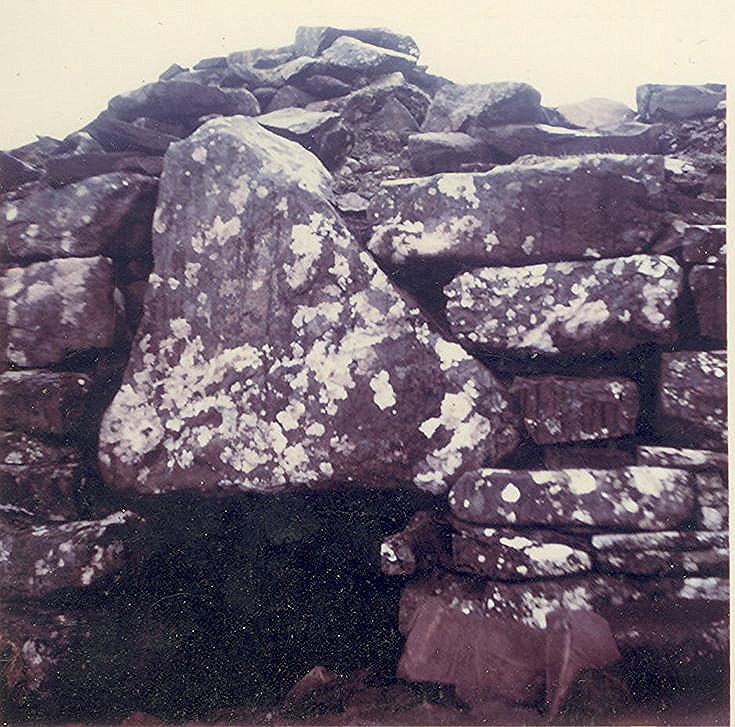 Broch at Clachtoll ~ Lintel Slab