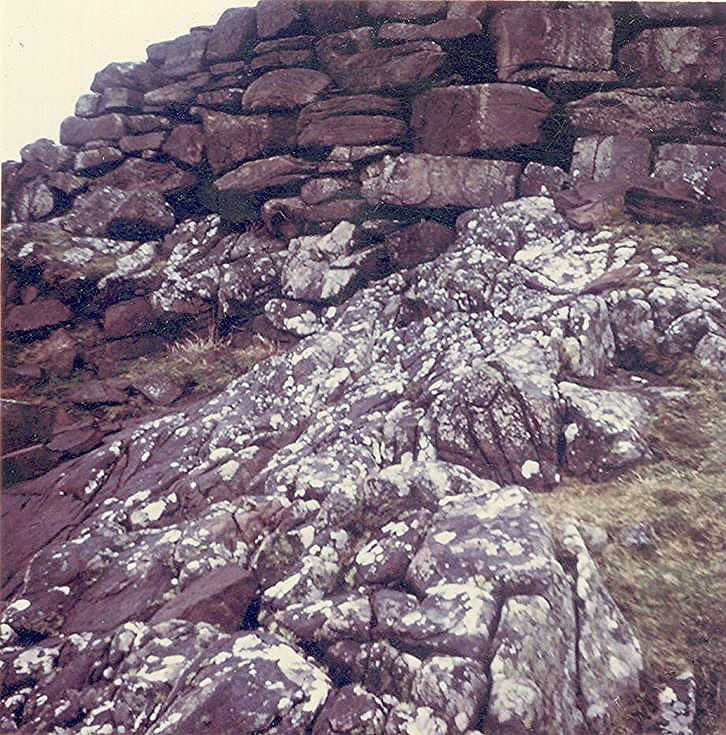 Broch at Clachtoll ~ Seaward side