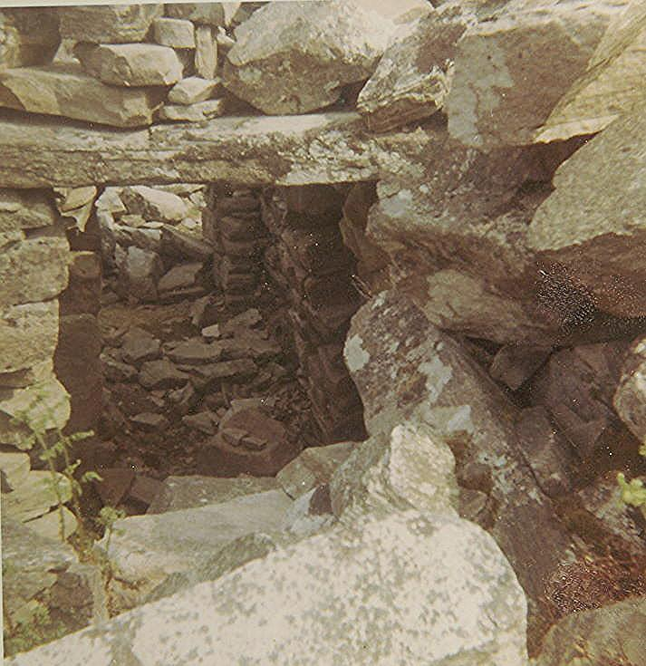 Entrance to Broch at Dun Maigh, Tongue