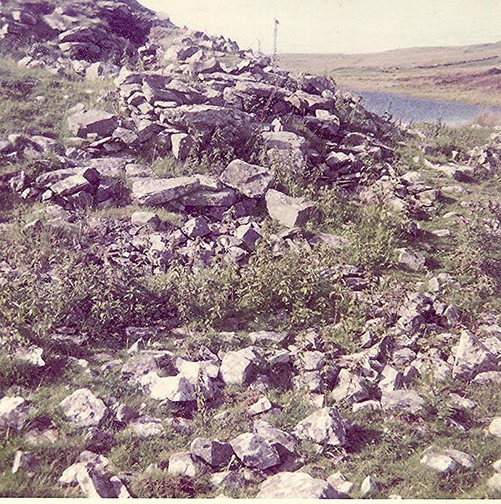 Broch at Loch Rangag