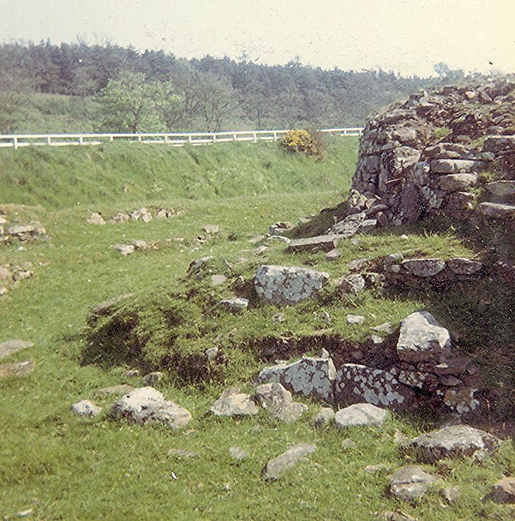 Broch at Carn Liath, Strath Steven