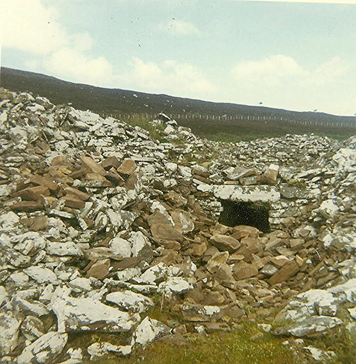 Entrance to Broch at Backies
