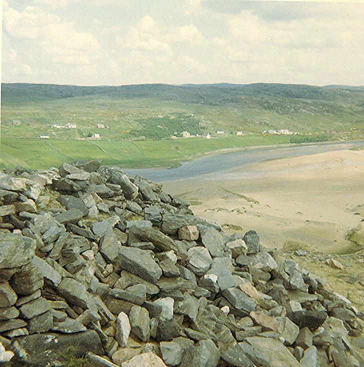 Broch at Sandy Dun, Invernaver