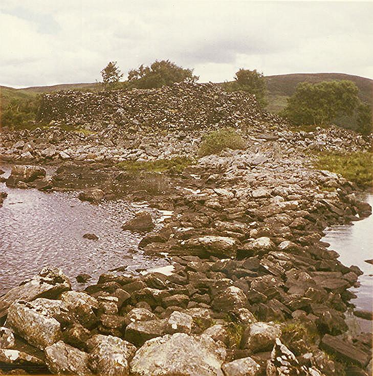 Causeway and Broch ~ Dun Creagach, Loch Naver