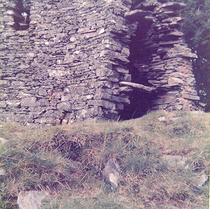 Broch at Dun Trodden, Glenelg ~ from inside