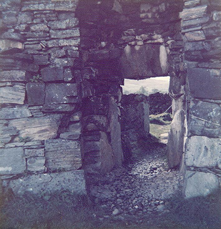 Broch at Dun Telve, Glenelg ~ from inside