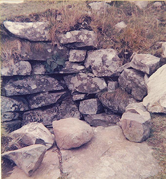 Broch at Dun Beag, Struan More, Skye ~ Guard Chamber