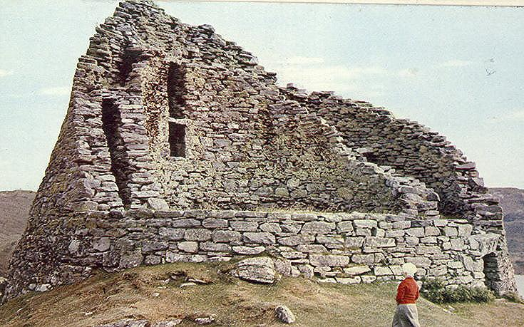 Broch at Dun Carloway, Lewis
