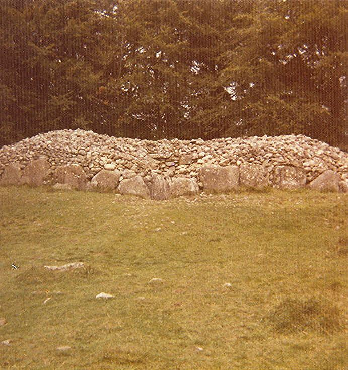 Chambered Tomb at Clava Mains Cairn (9) ~ Passage Grave