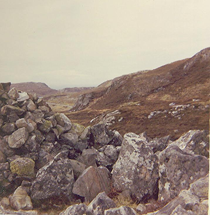 Chambered Tomb at Dun Carn Fhamhair, Eddrachillies