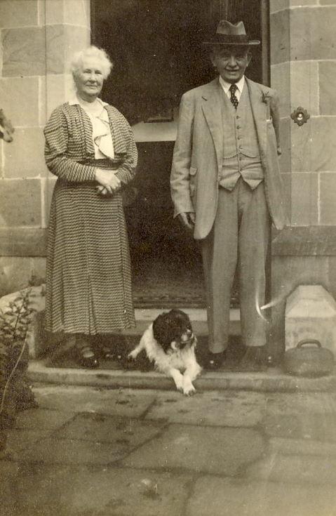 Mr and Mrs Hardie parents of Thomas Hardie