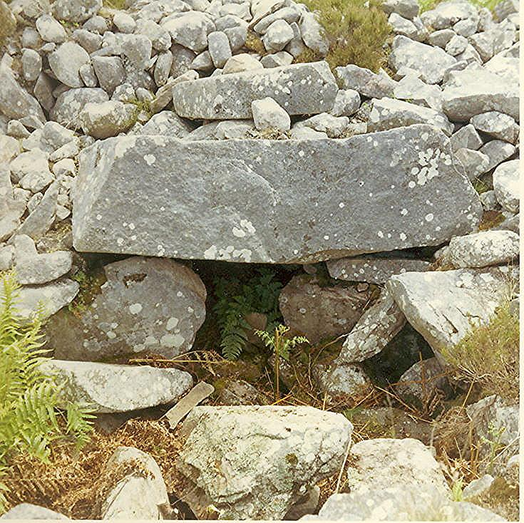 Chambered Tomb at Achue ~ Cairn of the Red Dog