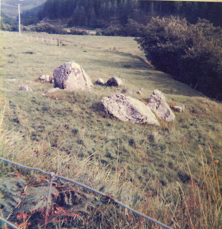 Chambered Tomb at Glenelg ~ Chamber of Cairn