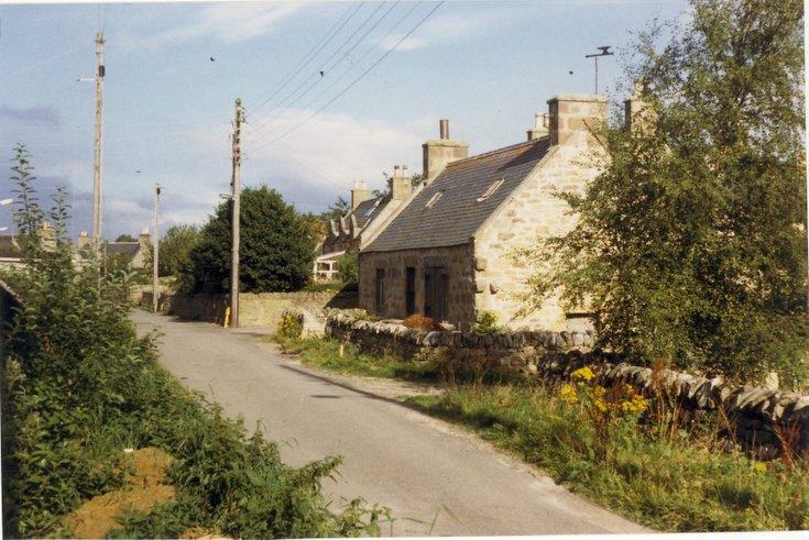 'The Smiddy', The Meadows, Dornoch - colour photograph