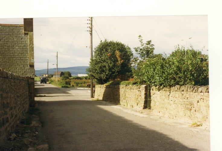 Eaglefield Road Dornoch 1982