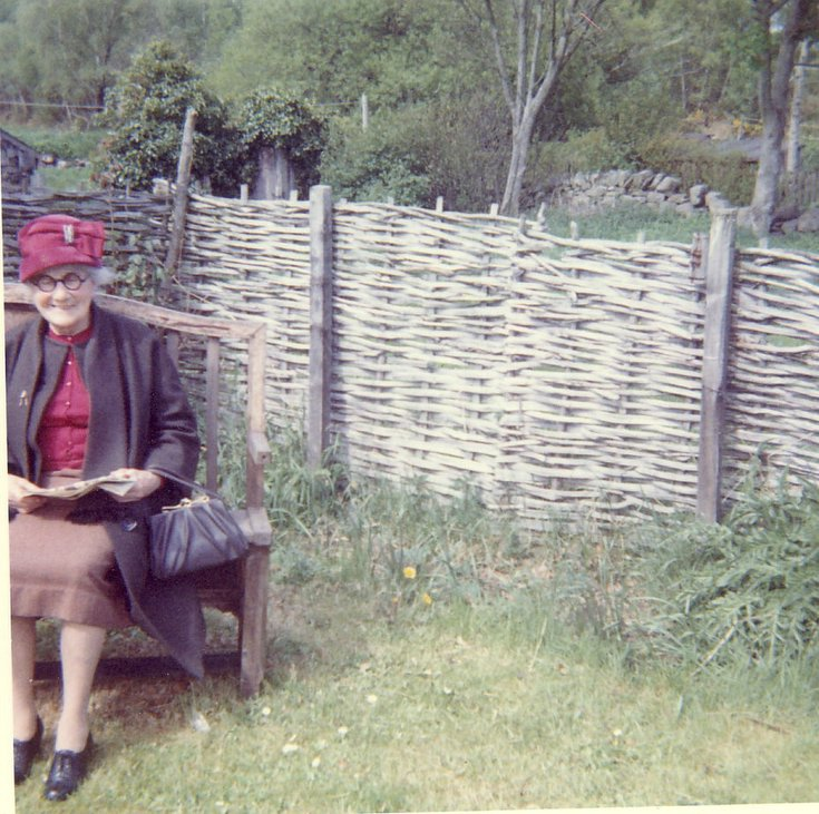 Miss Ria S Millar last teacher at Balvraid Scbool